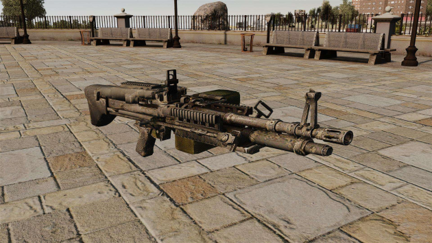 M60 with ACOG