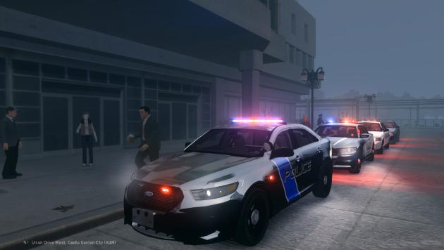 Сирена для полицейских машин