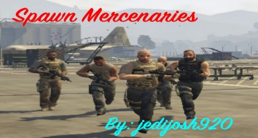 Spawn Mercenaries