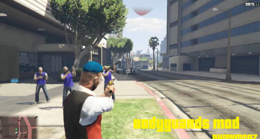 Invincible Bodyguards Mod Railgun