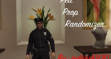 Ped Prop Randomzier рандомная внешность