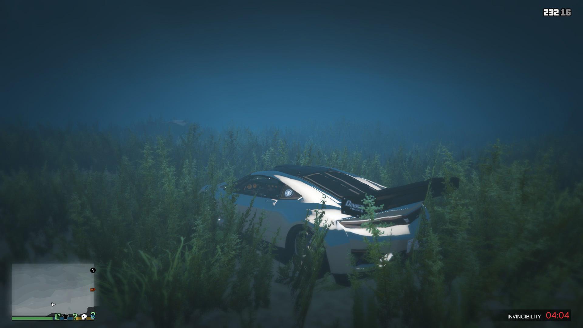 Sticky/Underwater Cars