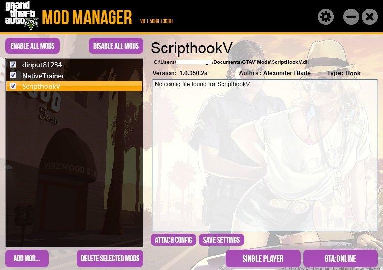 Mod Manager V