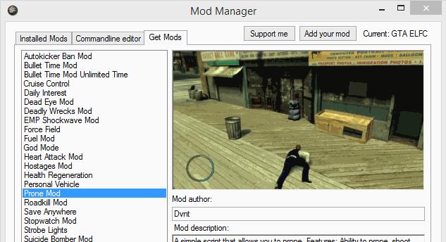 Скачать Mod Manager V2 + Mod installer для GTA 4