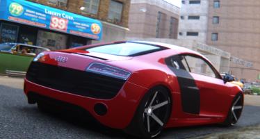 Audi R8 V10 Plus Vossen