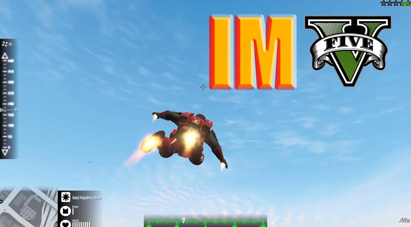 IronmanV Mod GTA 5