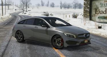 Mercedes-Benz CLA 45 AMG для GTA 5