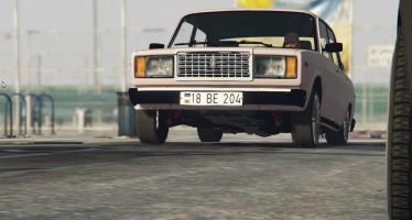 ВАЗ-2107 для GTA 5
