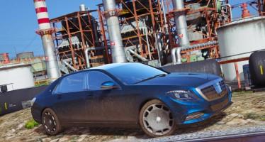 Mercedes-Maybach S400 X222 для GTA 5