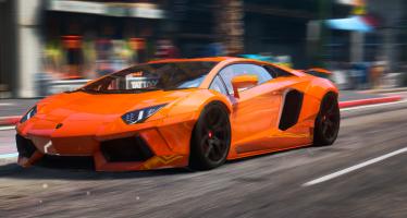 Lamborghini Aventador 2015 для GTA 5