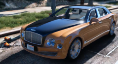 Bentley Mulsanne Mulliner 2013