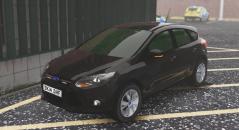 Metropolitan Police Ford Focus Hatchback