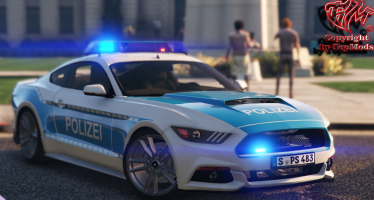 Ford Mustang Polizei