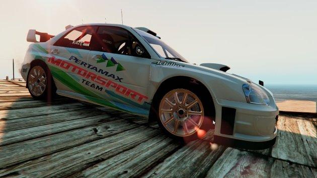 Subaru Impreza S11 WRC