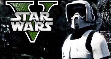 Star Wars Scout Trooper для GTA 5
