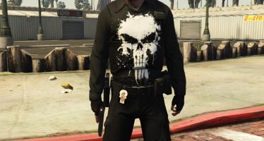 Punisher Clothes For Trevor для GTA 5