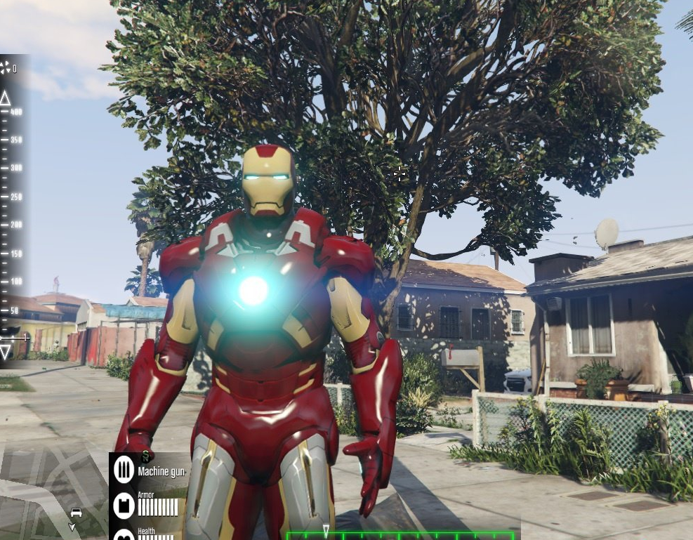 New Iron Man Mark 7 Armor
