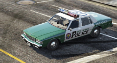1989 Chevrolet Caprice 9C1 - VICE CITY Police Department