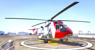 Norwegian SeaKing Helicopter