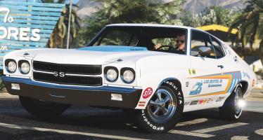 1970 Chevrolet Chevelle SS 454 для GTA 5