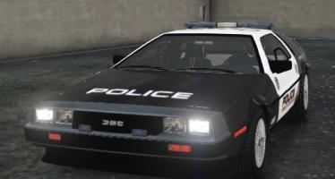 DMC12 POLICE STANDART для GTA 5