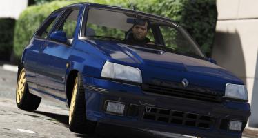 Renault Clio Williams 1 для GTA 5