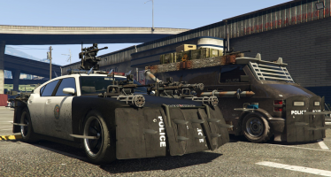 Zombie Cars для GTA 5