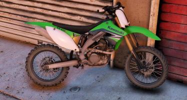 Kawasaki KX450F для GTA 5