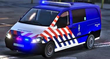 Mercedes Benz Vito Dutch Police для GTA 5