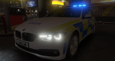 West Yorkshire Police: 2014 BMW 330D для GTA 5