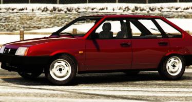 VAZ-21093i для GTA 5