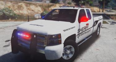 Chevy Silverado Law Enforcement для GTA 5