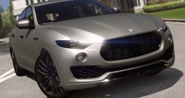 Maserati Levante для GTA 5