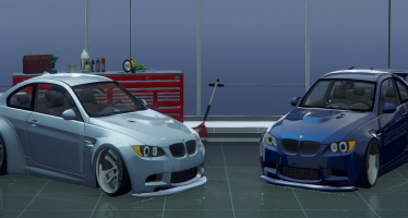 BMW M3 E92 Liberty Walk для GTA 5
