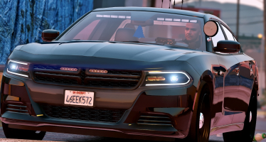2016 Unmarked Dodge Charger для GTA 5