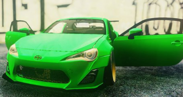2013 Scion FR-S RocketBunny для GTA 5
