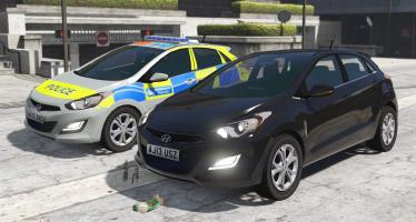 2013 Metropolitan Police Hyundai I30 Pack для GTA 5