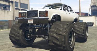 Willard Marbella Monster Truck для GTA 5