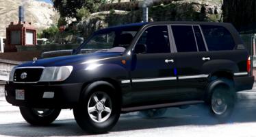 2002 Toyota Land Cruiser GX для GTA 52002 Toyota Land Cruiser GX для GTA 5