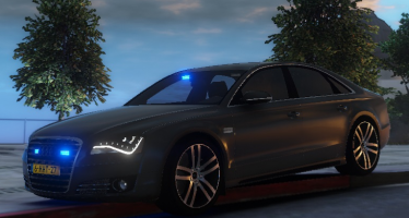 Audi A8 Dutch FBI для GTA 5