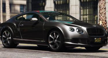 2013 Bentley Continental GT для GTA 5