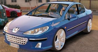 Peugeot 407 для GTA 5