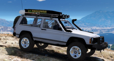 Моды для GTA 5 Jeep Cherokee 1998 Off Road