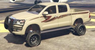 Моды для GTA 5 Lifted Toyota Hilux