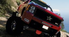 Моды для GTA 5 Chevrolet Silverado LTZ 2500 Lifted
