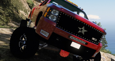 Моды для GTA 5 Chevrolet Silverado LTZ 2500 Lifted