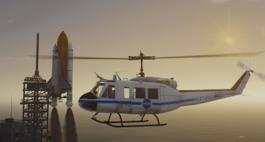 Моды для GTA 5 UH-1H Iroquois NASA