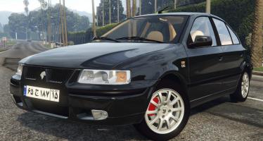 Моды для GTA 5 IKCO Samand LX