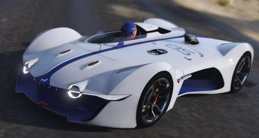 Моды для GTA 5 2015 Alpine Vision Gran Turismo Concept