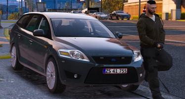 Ford Mondeo - Unmarked - Danish Police для GTA 5